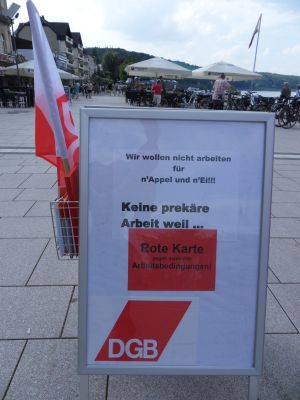 Info-Stand Remagen