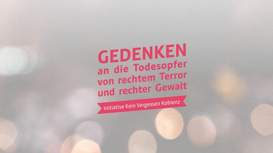 Initiative Kein Vergessen Koblenz