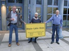 ?, Monique Menzel, Vorsitzende des DGB Kreisverband Rhein-Lahn, ?