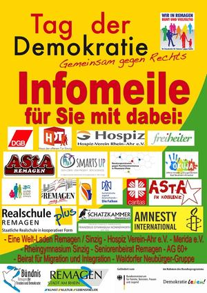 Infomeile: Gemeinsam gegen Rechts